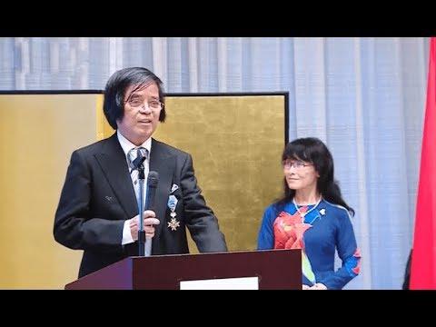 Giáo sư Trần Văn Thọ, niềm tự hào về trí tuệ của người Việt tại Nhật Bản