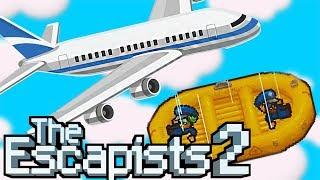 ESCAPANDO DE UM AVIÃO EM MOVIMENTO! C/ Mike - The Escapists 2