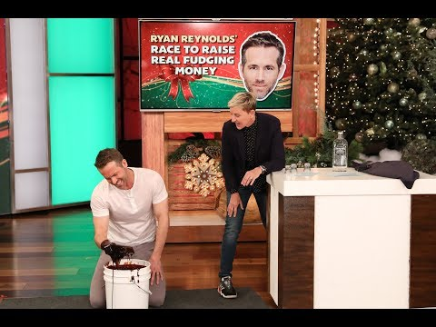 Deuce - Ryan Reynolds Gets Drunk On The Ellen Show