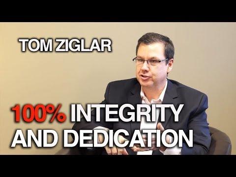 Integrity and Dedication - Tom Ziglar - YouTube