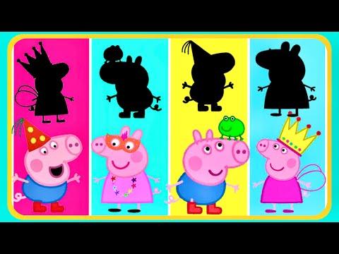 Encontre o personagem PEPPA PIG Пеппа بيبا بيج /Сборник