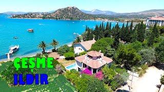 İZMİR ÇEŞME ILDIR - Denize Sıfır Muhteşem Villa