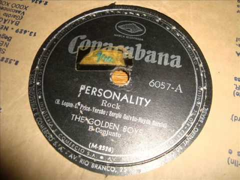 Personality - Os Golden Boys - 1959