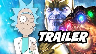 Rick and Morty Season 3 Episode 4 Promo 2 - Infinity War and Justice League Parody