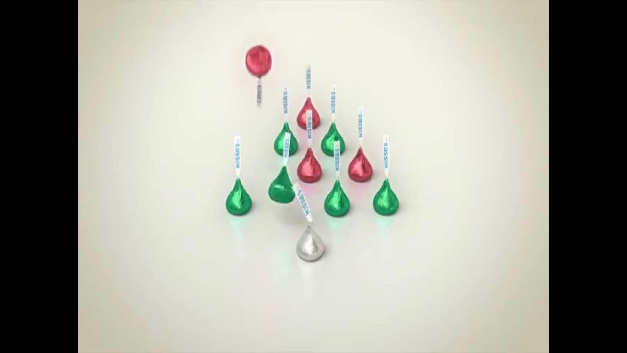 Hershey's Kiss Christmas Commercial HD - YouTube