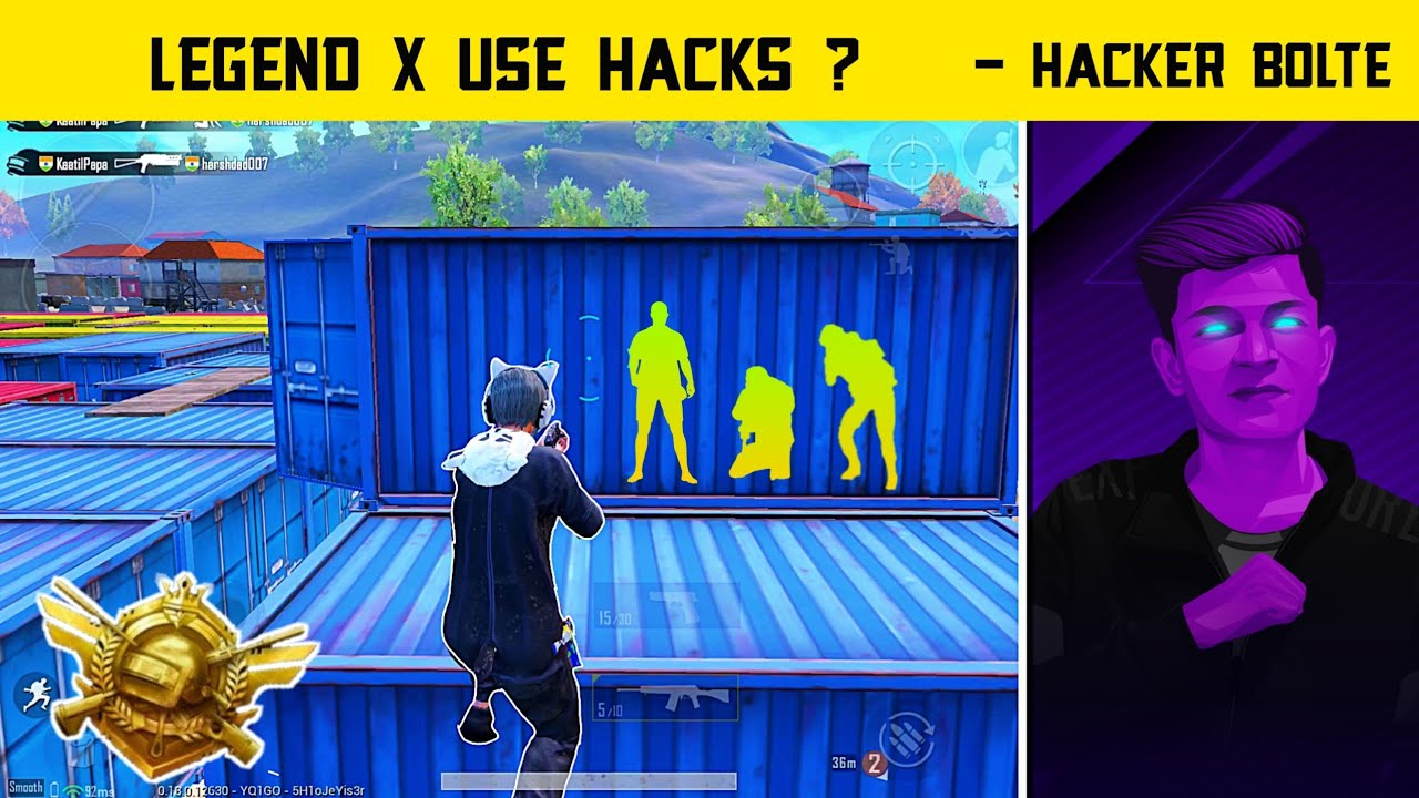 😤They Think I'm Using Hacks In Pubg Mobile - (21 Kills) Gameplay Conqueror Rank - Legend X