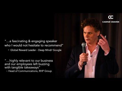 Inspirational Teamwork Keynote Speaker and Leadership - UK/ EMEA - Caspar Craven - 2020 Showreel