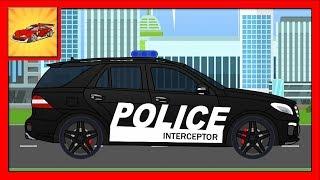 Alege Silueta - Masina de Politie - Animatii pentru Copii