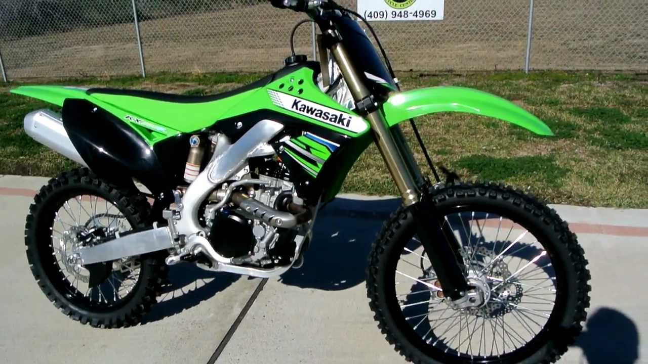 Overview and Review: 2012 Kawasaki KX250F With Fuel Injection - YouTube