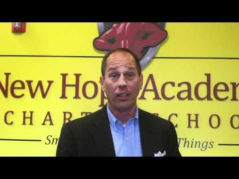 Senator Scarnati visits New Hope Academy Charter School