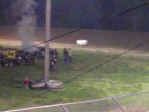 Hutchinson Raceway Park JUne 19th 2009 Fight club
