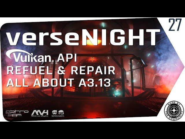 verseNIGHT #27 🌟 STAR CITIZEN Talk & Musik mit AstroSam & Mitch van Hayden 🚀 13.04.21