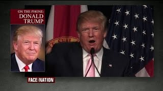 Full Interview: Donald Trump, October 25