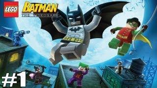 """ИГРА ПО ФИЛЬМУ """"LEGO BATMAN"""" #1"""