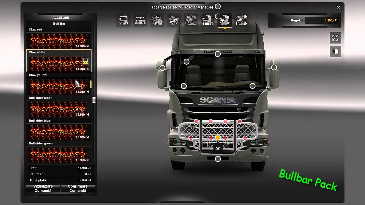 Ets 2 Bullbar Pack Youtube
