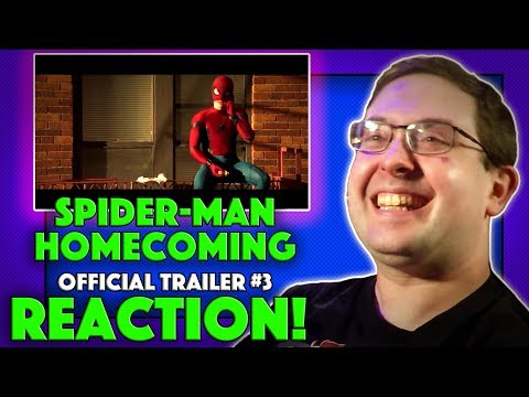 Thumbnail: REACTION! Spider-Man: Homecoming Trailer #3 - Tom Holland Movie 2017