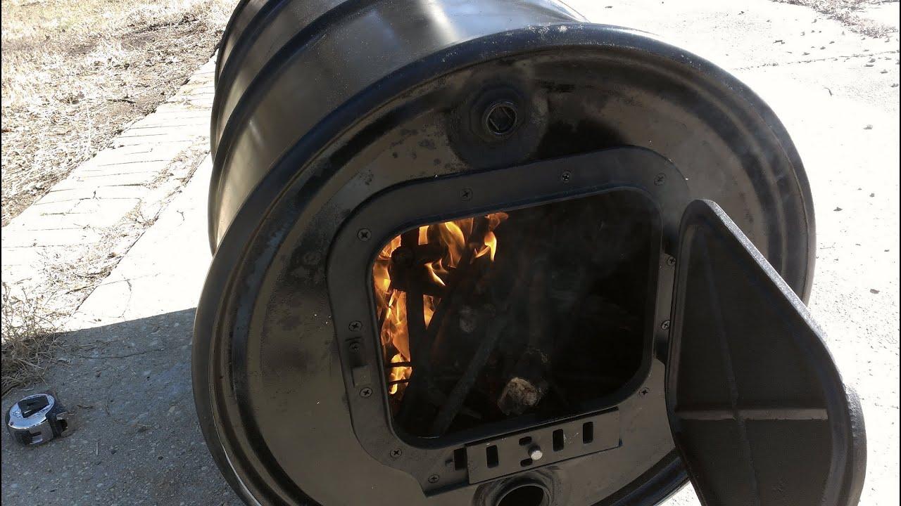 Acuaponia casera calentador de madera  YouTube