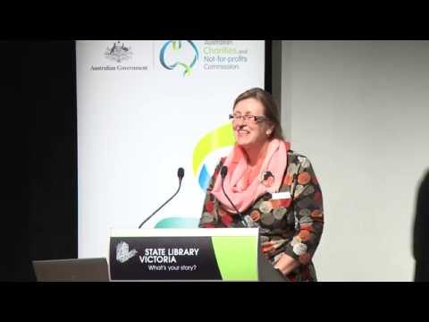 Australian charities involved overseas and the ACNC Part 4.2 – Bronwen Harvey