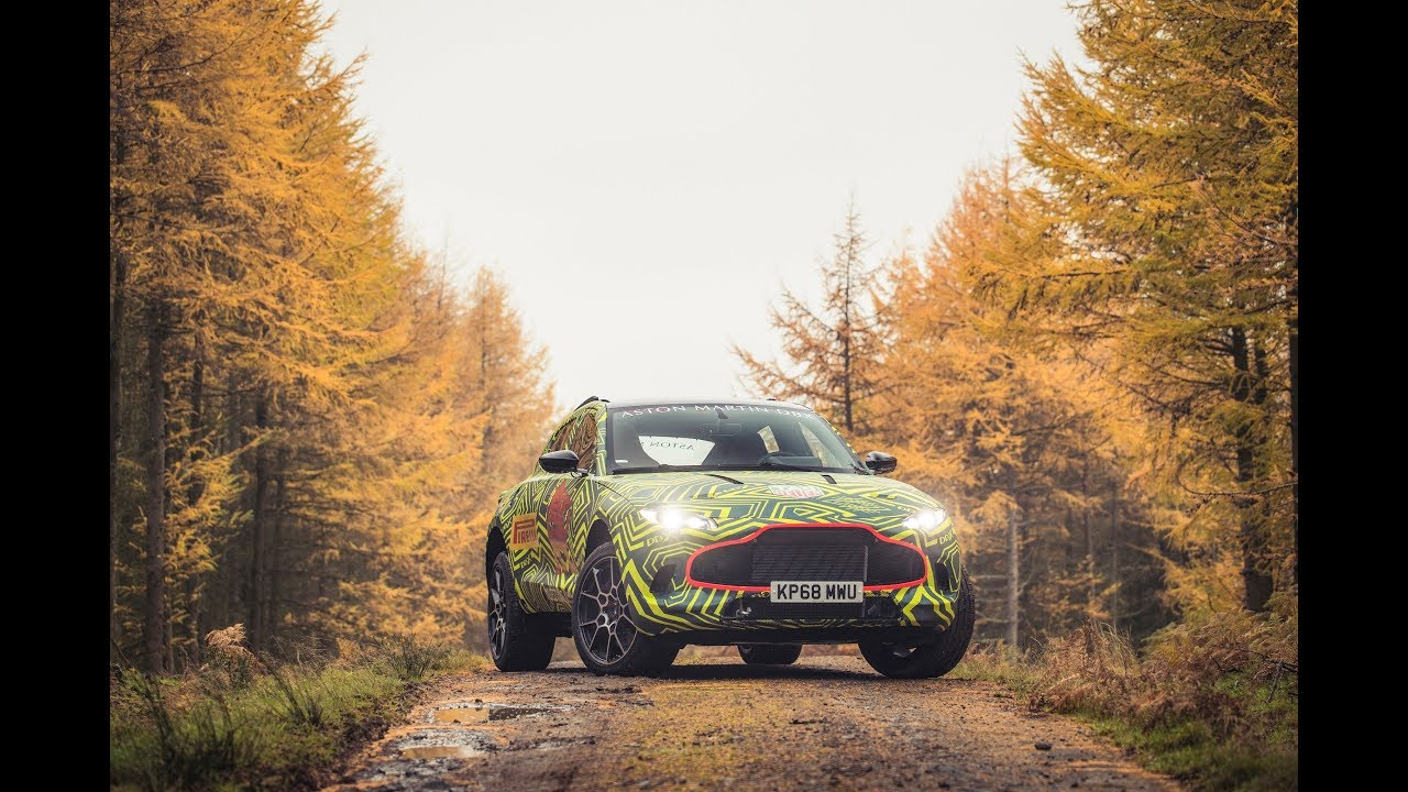 2019 DBX - Aston Martin's first SUV