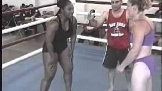 Grappling Glamazons,Helen Von Mott vs Afrika Part 3