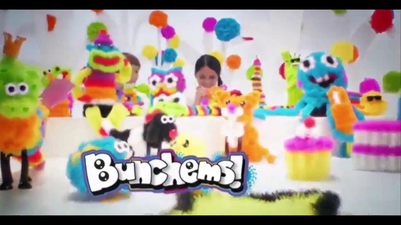 Конструктор Банчемс делаем цветные животные из шариков Banchems .