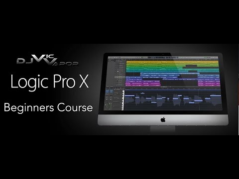 Logic Pro X - Beginners Course - Lesson 26 - Score Editor - feat. (djvicvapor)