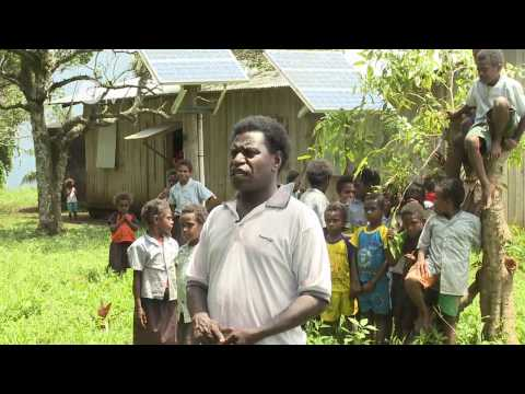 Solar Power for Vanuatu