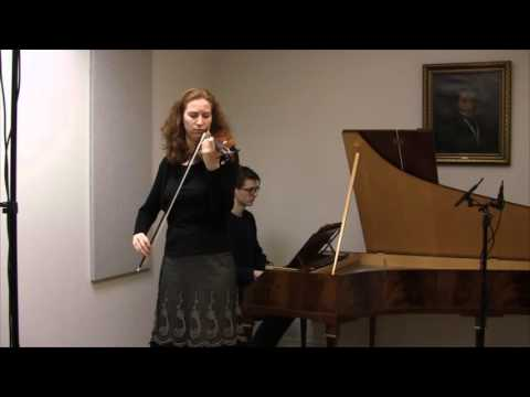 Mendelssohn Violin Concerto in d minor, Historical, mvt 2