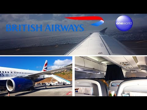 British Airways Airbus A320 Madeira Funchal to London Gatwick FULL FLIGHT
