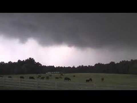 Alamance County Severe Supercell Storm Chase - June 11, 2006
