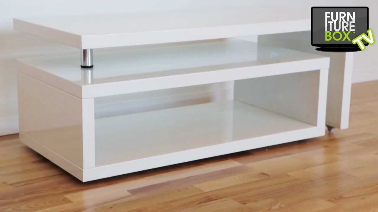 NELSON Soffbord Vit Lack Furniturebox