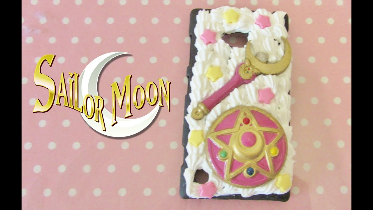 free shipping 2dce0 825a0 Sailor Moon Phone case - Watch me Decoden
