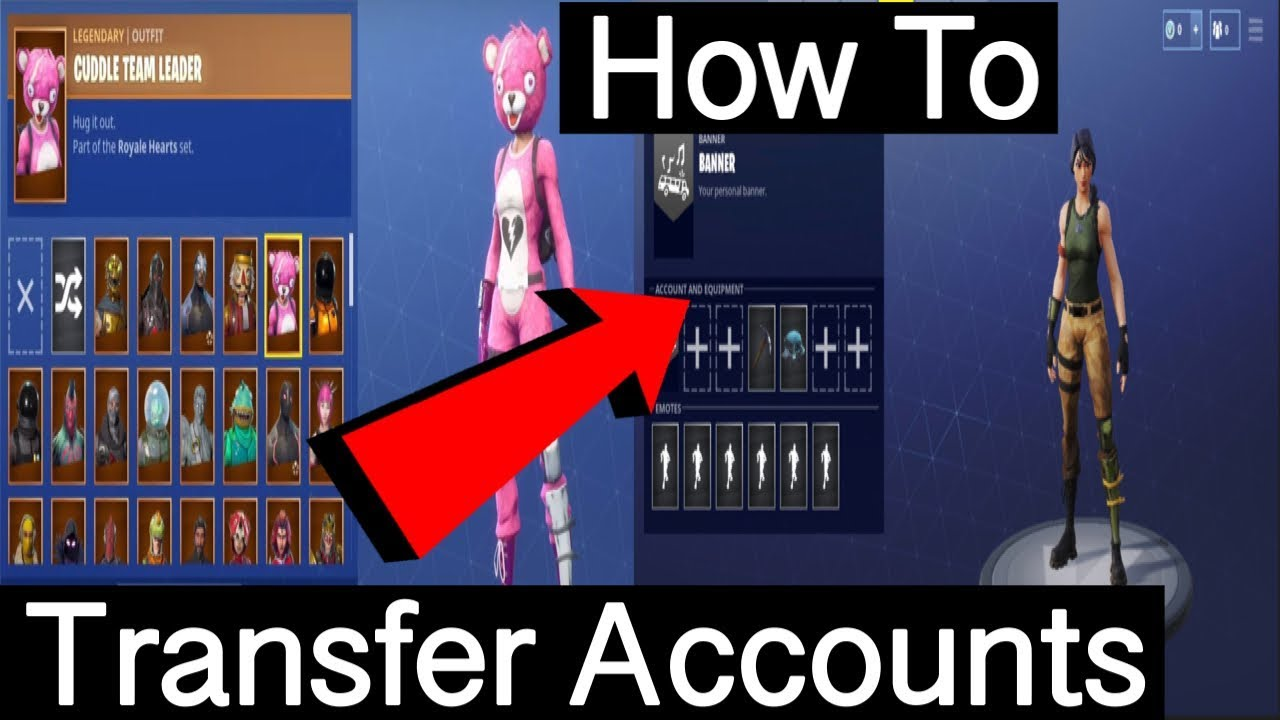 How To Transfer Any Fortnite Account To PS4, XBOX ONE, & PC! (Working 2018  After Crossplay Update!)