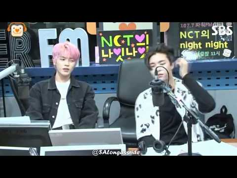 [170816 NCT Night Night] Taeyong and Johnny jamming to Welcome to The Black Parade