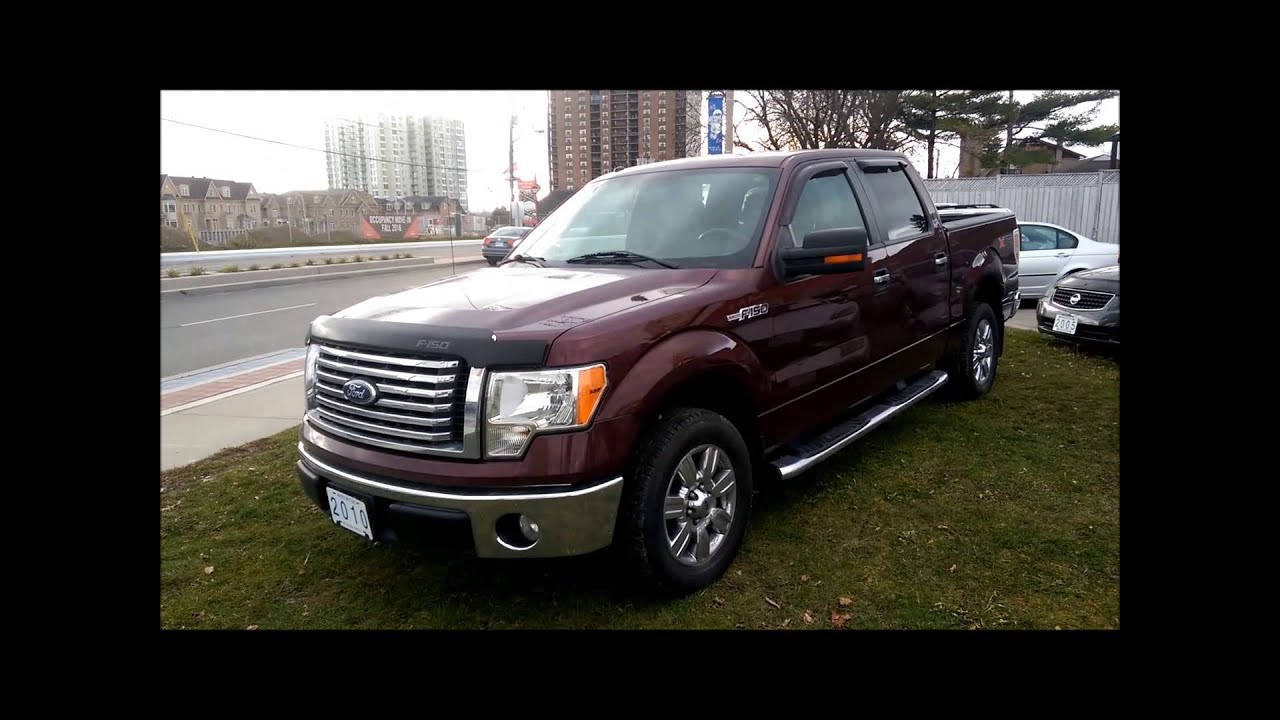 Sold 2010 ford f 150 xlt xtr for sale toronto ontario metro motors