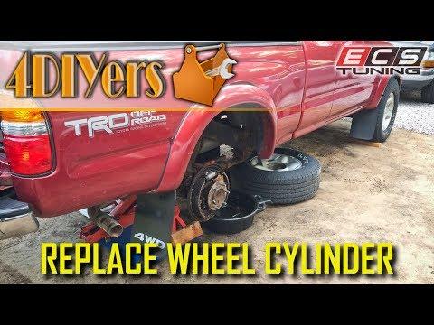DIY: Toyota Tacoma Brake Wheel Cylinder Replacement