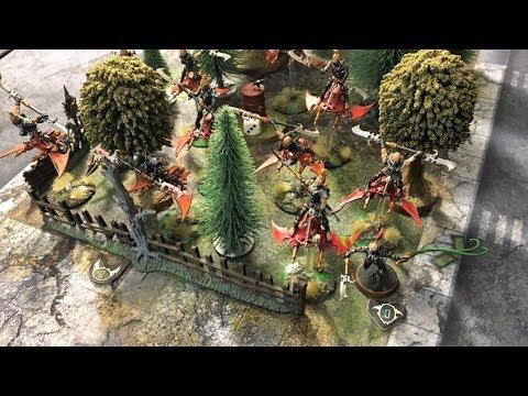 Warhammer 40k 8th Edition Drukhari Wych Cult Vs Thousand Sons