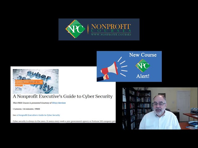 Cyber Security Threats and Solutions for Nonprofits