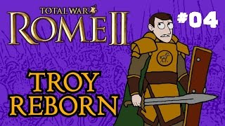 Total War: Rome 2 - Troy Reborn - Part 4 - Into Greece!