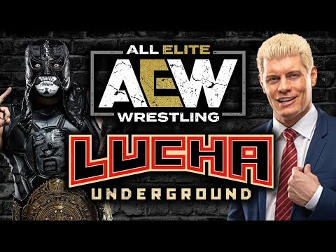 AEW Star Reveals All Elite Wrestling Partnership with Lucha Underground + More News!