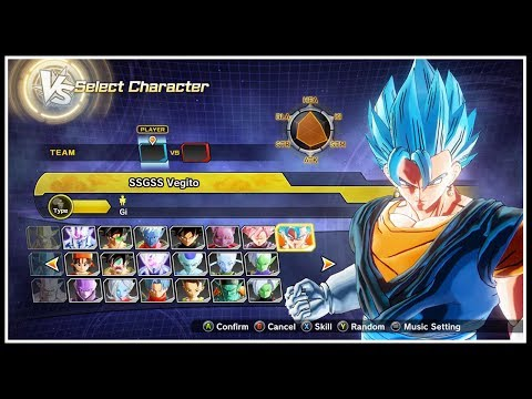 Dragon Ball Xenoverse 2 - ALL CHARACTERS & COSTUMES [ALL DLC INCLUDED]