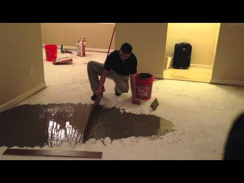 How To Level Your Subfloor Low Spots YouTube - Subfloor leveling techniques