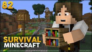 Minecraft Survival #82: Decorando a Casa do Floquinho