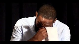 An Emotional Jon Jones Breaks Down After Being Removed From UFC 200