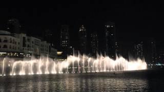 The Dubai Fountain Full HD - Enta Omri (November 2014)