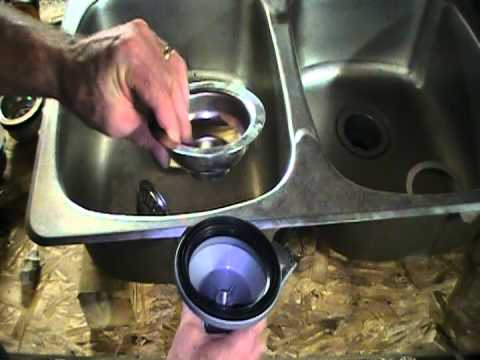 Kitchen sink strainers.  Plumbing tips.