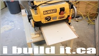 Mobile Planer Stand For Dewalt Dw735