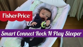 NEW!  Fisher Price Smart Connect Rock N Play Sleeper
