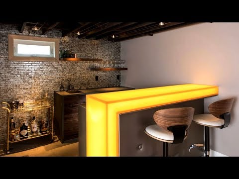 27 Stylish Home Bar Ideas