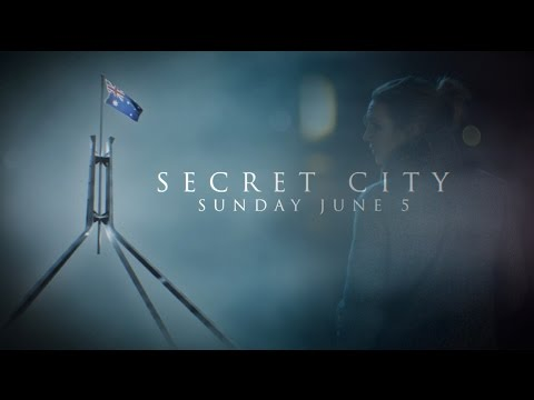 Anna Torv Secret City Official Teaser